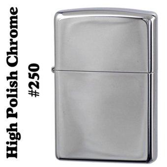 Zippo chrome chính hãng mỹ bảo hành 12 tháng