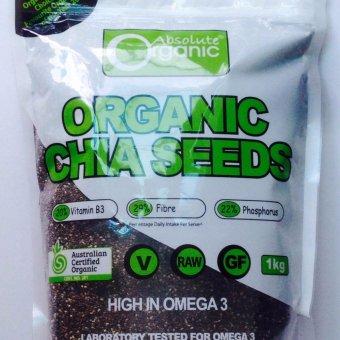 túi Hạt Chia Seeds Organic Hàng Nhập Úc 1kg, Giúp Giảm Cân, Đẹp Da. tốt cho người ăn chay