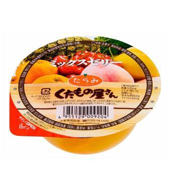 Thạch trái cây thập cẩm rau câu TARAMI 160Gr
