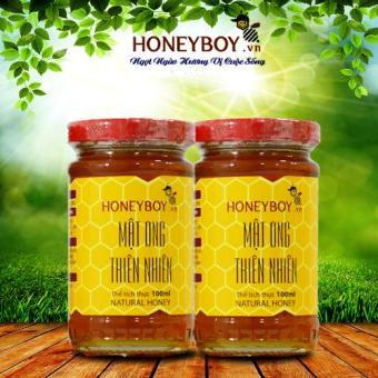 Bộ 2 Mật ong thiên nhiên Honeyboy 100ml