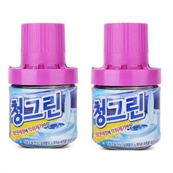 Bộ 2 lọ thả bồn cầu diệt khuẩn, khử mùi - Sản xuất tại Hàn Quốc - 400G