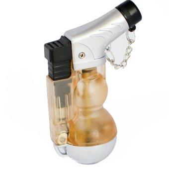 Bật lửa khò Shu mỏ vịt có đèn báo F562 (Cam)