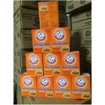 10 hộp Bột Nở, Muối Nở Baking Soda đa công dụng hàng Mỹ