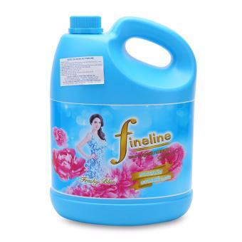 Nước Xả Vải Đậm Đặc Fineline chai 3500ml (Xanh)