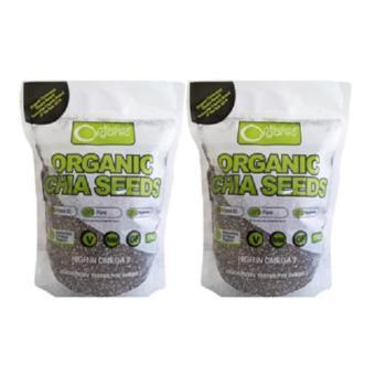 Bộ 2 Hạt chia Organic Chia Seeds Australia 1kg