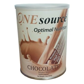 Sữa bột dinh dưỡng ONE SOURCE OPTIMAL NUTRITION CHOCOLATE 400g