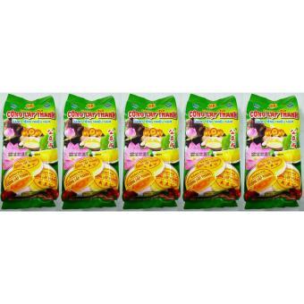 Bộ 5 Gói Bánh Pía Đậu Xanh Sầu Riêng Hảo Hạng 400g