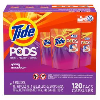 Viên giặt/xả 3 trong 1 Tide Pods Bịch 38 viên