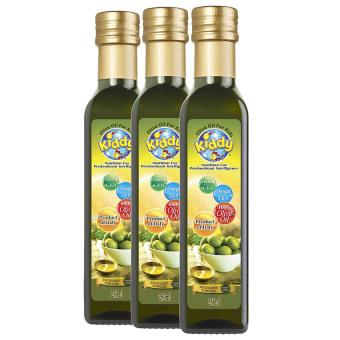 Lô 3 chai dầu Olive cho trẻ em nhãn hiệu Kiddy 250ml