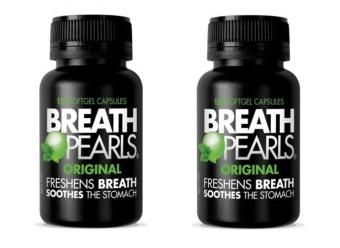 Bộ 2 hộp Kẹo Bạc Hà Breath Pearls Origina 150 viên