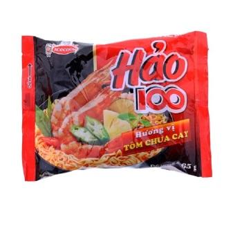 Thùng 30 gói mì Hảo 100 vị tôm chua cay