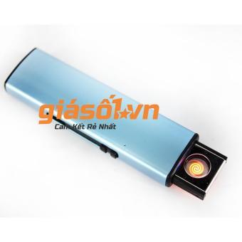 Bật lửa điện chân sạc USB tiện lợi ( Xanh )