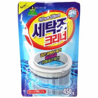 Bột tẩy lồng máy giặt Hàn Quốc 450g cao cấp ( Lồng đứng + Lồng ngang )