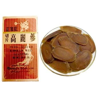 Mua Hồng Sâm Hàn Quốc thái lát khô 100% tự nhiên (không tẩm) 30g/Hộp giá tốt nhất