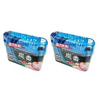 Bộ 2 Hộp khử mùi tủ lạnh bằng than hoạt tính Kokubo Nhật Bản 150g