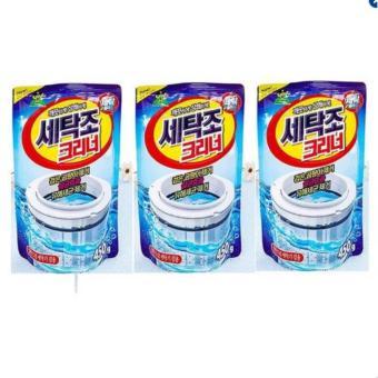 Combo 3 gói bột vệ sinh tẩy lồng máy giặt cao cấp Hàn Quốc