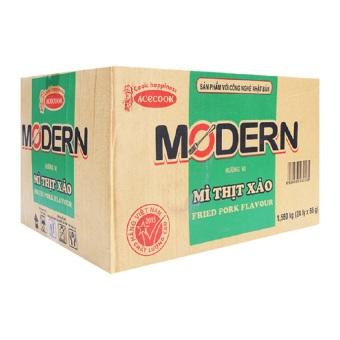 Thùng 24 ly mì Modern vị thịt xào