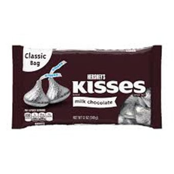 Kẹo chocolate sữa Kisses 340g