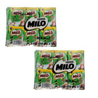 Bộ 2 Túi 3 Dây Sữa Nestlé Milo 3 In 1 15G*60 Gói
