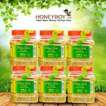 Combo 6 Phấn hoa thiên nhiên Honeyboy 100g