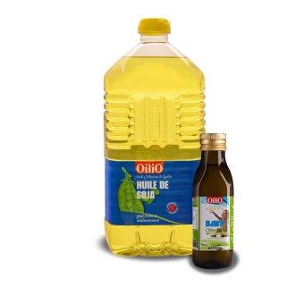 Bộ 1 dầu đậu nành OiliO 2L và 1 dầu Oliu baby OiliO 250ml
