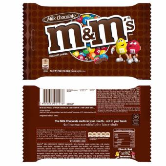 Mua Bộ 02 Gói Kẹo Chocolate M&M's® Milk 200gram giá tốt nhất