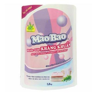 Nước giặt quần áo kháng khuẩn Mao Bao 1800g