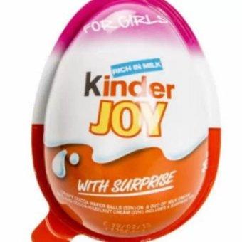 Socola trứng Kinder Joy cho bé (Hồng)