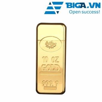 Bật Lửa Kiểu Dáng Thỏi Vàng PP By USA Store (Vàng)