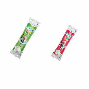 Bộ 60 Cây Kem sữa chua trắng + sữa chua hương vải Vinamilk Subo - Cây 50g