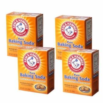 Bộ 4 hộp Bột nở Baking Soda đa công dụng Arm & Hammer 454g (tt)