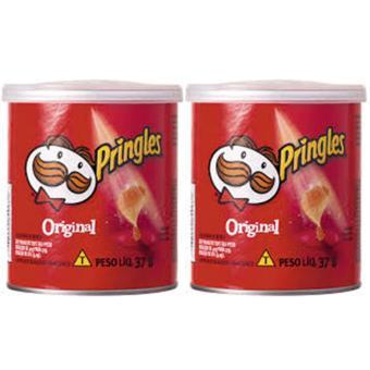 Bộ 2 lon khoai Tây Chiên Pringles Original 37g