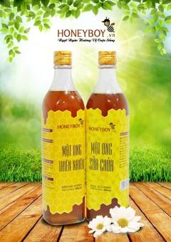 Bộ Mật ong thiên nhiên 500ml và Mật ong sữa chúa 500ml