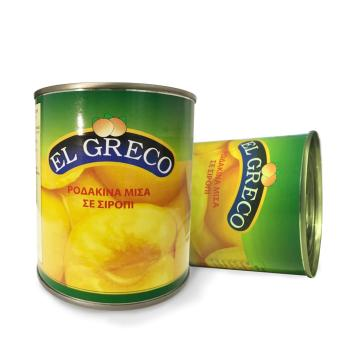 2 lon Đào ngâm El Greco