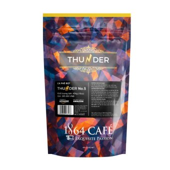 Cà phê bột Thunder No.5 1864 CAFÉ 454g