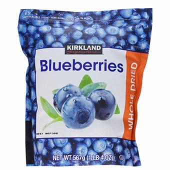 Việt Quất Sấy Khô Kirkland Signatrue Whole Dried Blueberries 567g