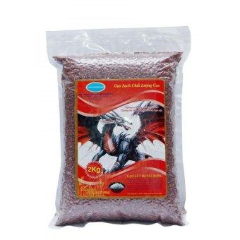 Bộ 3 túi gạo lứt huyết rồng 2kg + 2 hộp mè đen 250g + 1 hộp gạo lứt huyết rồng rang 450g cho người ăn thực dưỡng Ohsawa