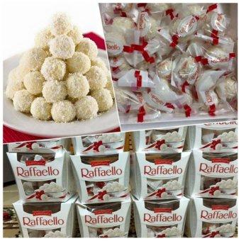 Thùng 6 hộp chocolate Raffaello bọc dừa Đức