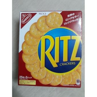 Bánh Ritz Crackers của Nhật hộp giấy
