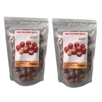 Bộ 2 túi hạt macca sấy khô tự nhiên 500 gam