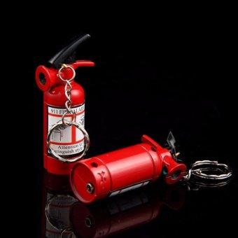 Bật lửa mô hình Bình Cứu Hỏa kiêm móc khóa độc đáo Fire Box F164