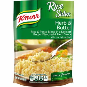 Knorr Mì trộn hương vị lá thảo mộc và bơ nhập từ Mỹ 153gr