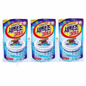 combo 03 gói bột tẩy lồng máy giặt nhập khẩu nguyên túi từ Hàn Quốc