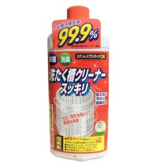 Chai Dung dịch vệ sinh lồng máy giặt Rocket Siêu diệt khuẩn - Nhật Bản 550g