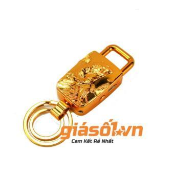 Bật lửa sạc điện USB,đèn pin ,móc khóa Hổ vàng