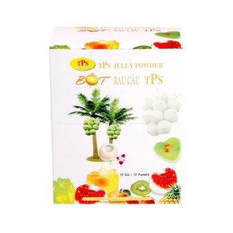 Hộp 12 gói bột rau câu Jelly TPS 10g x 12 gói