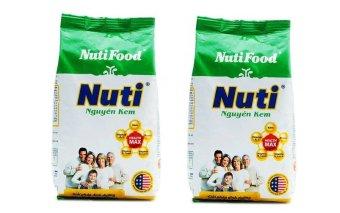 Sữa bột nguyên kem NutiFood 400g x 2 Gói