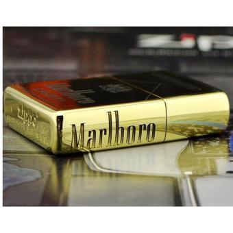 Bật lửa Zippo Marlboro khắc 5 mặt