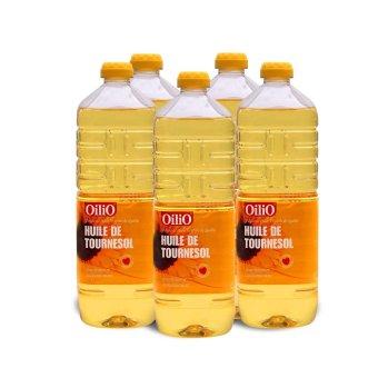 Bộ 5 chai dầu hướng dương OilIO 1L