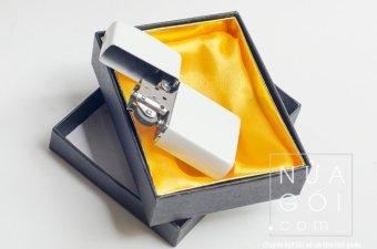Bật lửa đá xăng cổ điển F503 (Trắng sữa)